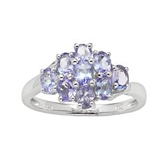 Sterling Silver Tanzanite Ring by