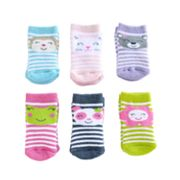 Carter's 6-pk. Terry Friendly Faces Socks - Baby