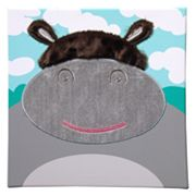 Studio Arts Kids Jungle Room Hippo Wall Art