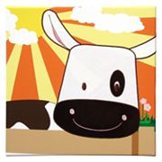 Studio Arts Kids Animal Farm Cow Wall Art
