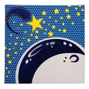 Studio Arts Kids Outer Space Moon And Stars Wall Art
