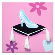 Studio Arts Kids Her Majesty Glass Slipper Wall Art