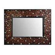 Metro Design USA Faux Gem-Accented Mirror