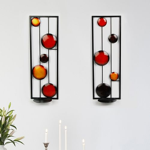 Metro Design Usa Sabrina 2-Pc. Wall Sconce Set