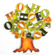 Metro Design USA Hope Word Scrambler Wall Decor