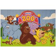 Fun Rugs little tikes The Zoo Rug - 3'3'' x 4'10''