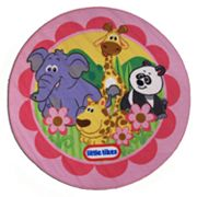 Fun Rugs little tikes Animal Rug - 3'3'' Round