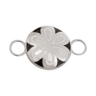 Loopz Sterling Silver Flower Clasp
