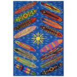 Fun Rugs Surf Time Go Surfing Rug