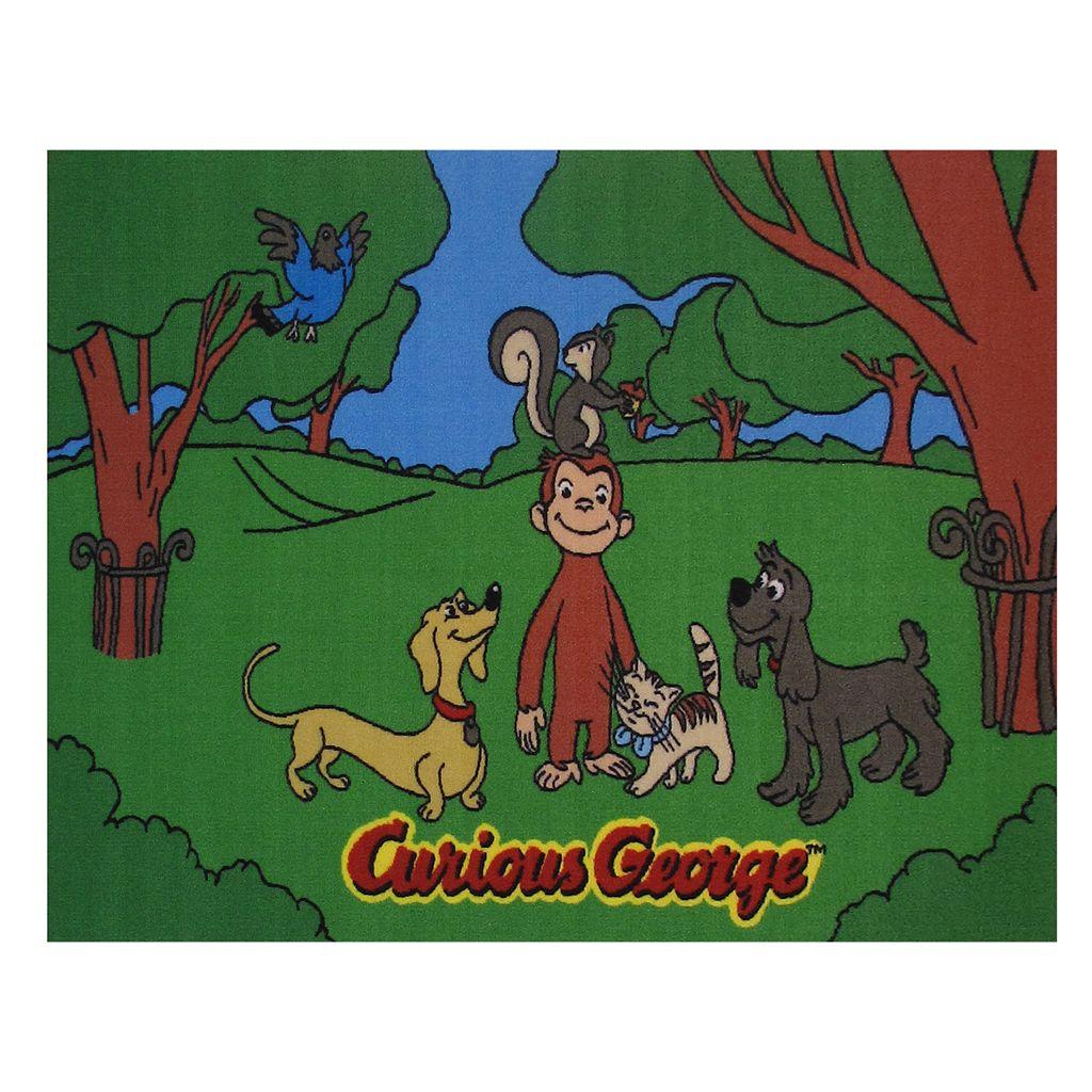 Fun Rugs Curious George & Friends Rug - 3'3'' x 4'10''