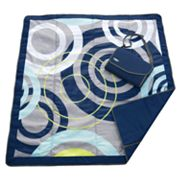 JJ Cole Circle Fold-Up Outdoor Blanket