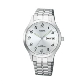 Pulsar Men's Stainless Steel Watch - PV3013X