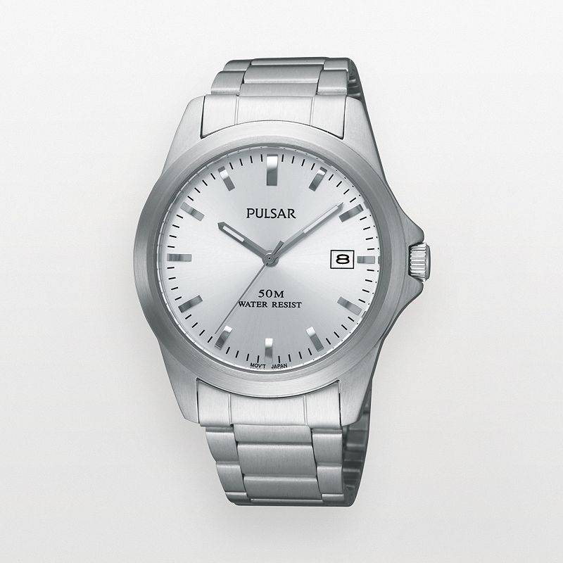 Pulsar Stainless Steel Watch - PXH845X - Men
