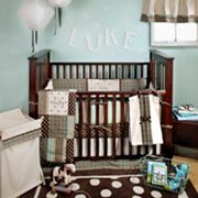 My Baby Sam 3-pc. Mad About Plaid Crib Bedding Set
