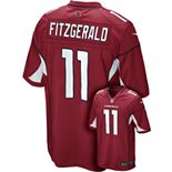 Men's Nike Arizona Cardinals Larry Fitzgerald Game NFL Replica Jersey