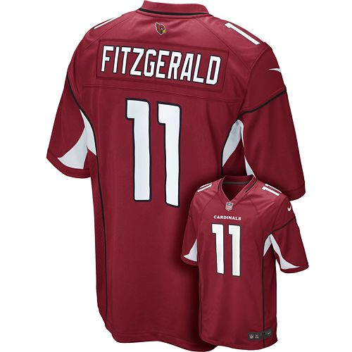 new style 2b870 a0a4b Men's Nike Arizona Cardinals Larry Fitzgerald Game NFL ...