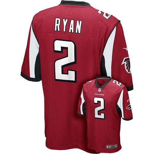 Men's Nike Atlanta Falcons Matt Ryan Game NFL Replica Jersey  free shipping