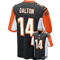Men's Nike Cincinnati Bengals Andy Dalton Game NFL Replica Jersey