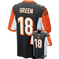 Men's Nike Cincinnati Bengals AJ Green Game NFL Replica Jersey - Men