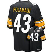 Nike Pittsburgh Steelers Troy Polamalu NFL Jersey  - Men