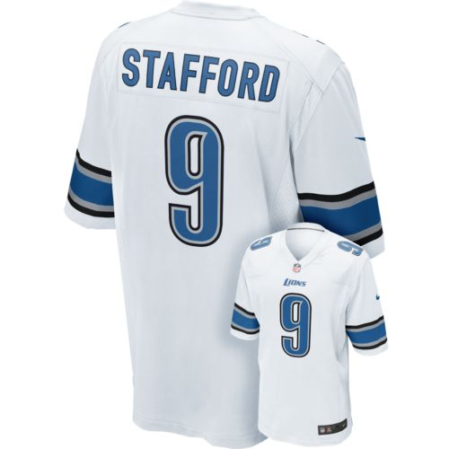 Nike Detroit Lions Matthew Stafford Game NFL Replica Jersey - Men