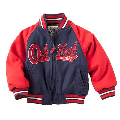 OshKosh B'gosh Baseball Jacket - Toddler