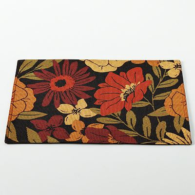 NATCO Red Flower Fields Placemat