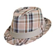 DPC Plaid Fedora