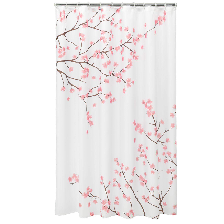 Cherry blossom shower curtain kohls - Home Classics Cherry Blossom Fabric Shower Curtain