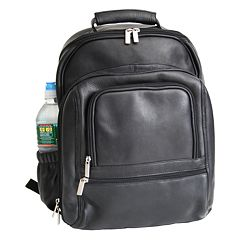 Royce Leather Deluxe Laptop Backpack by