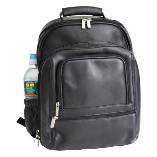 Royce Leather Deluxe Laptop Backpack