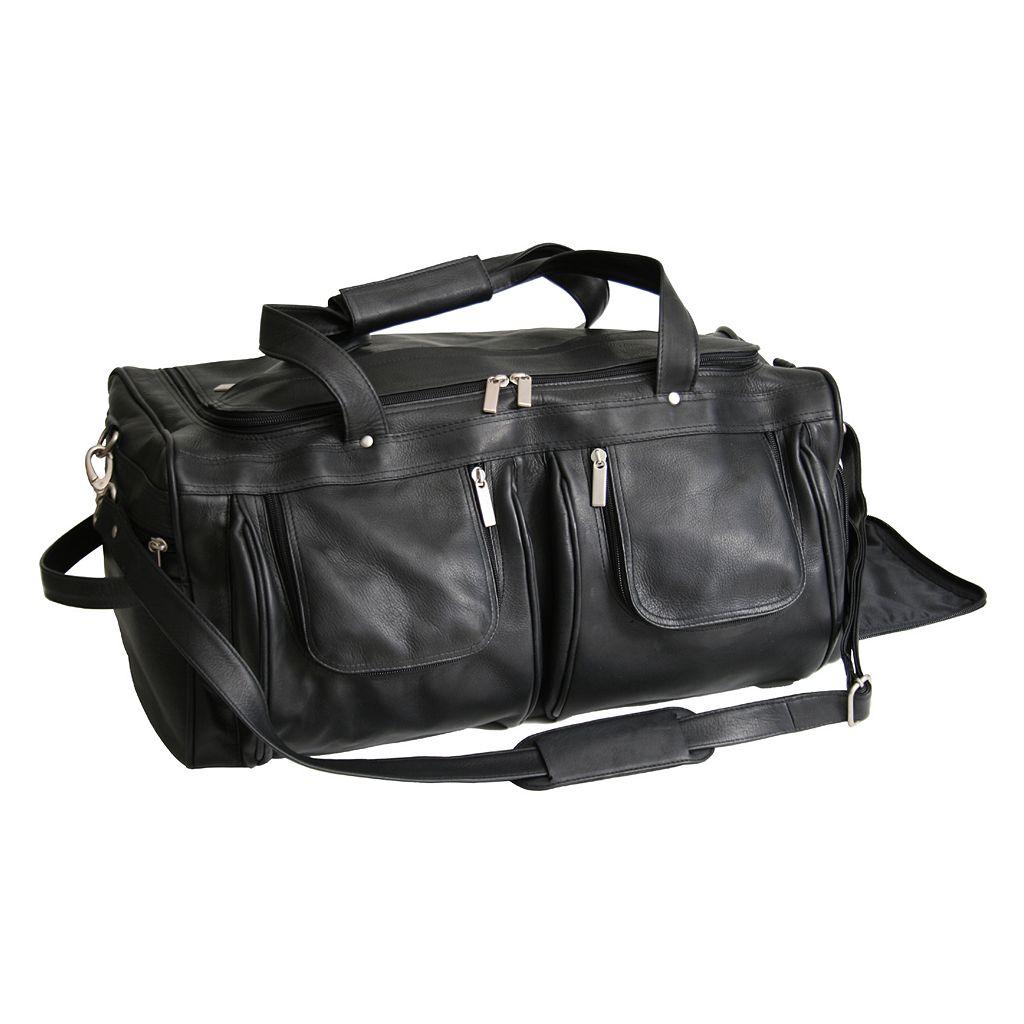 Royce Leather Vaquetta Duffel Bag