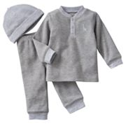 Carter's Giraffe Thermal Top and Pants Set - Preemie