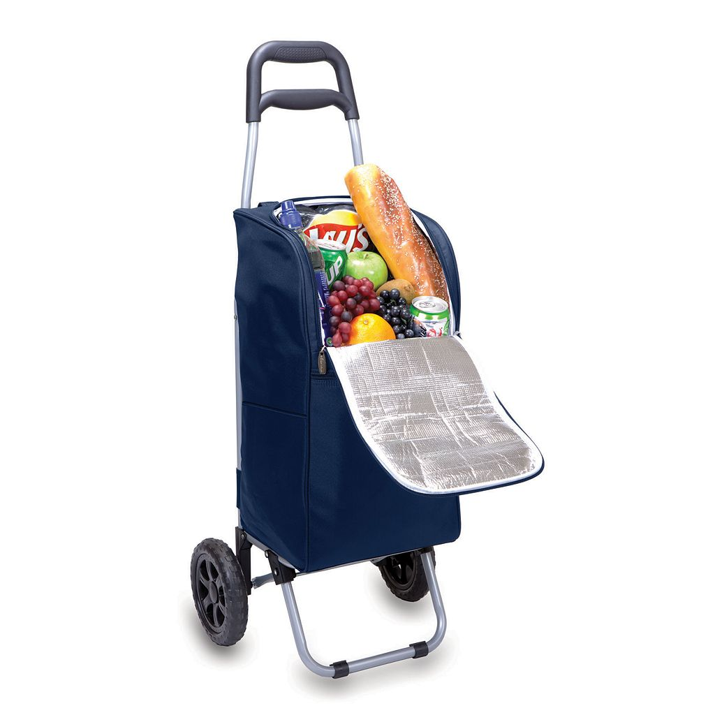Picnic Time Kansas Jayhawks Cart Cooler