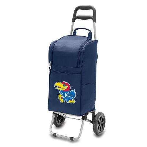 Picnic Time Kansas Jayhawks Cart Cooler