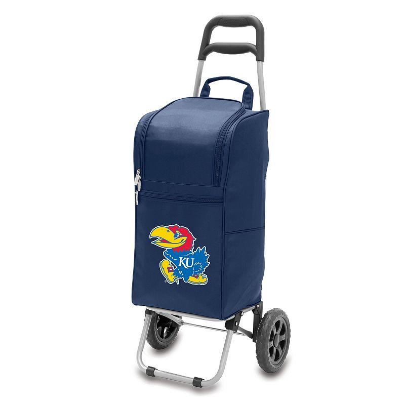 Picnic Time Kansas Jayhawks Cart Cooler, Blue