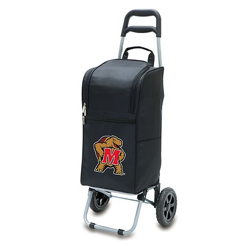 Picnic Time Maryland Terrapins Cart Cooler