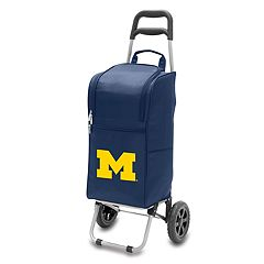 Picnic Time Michigan Wolverines Cart Cooler