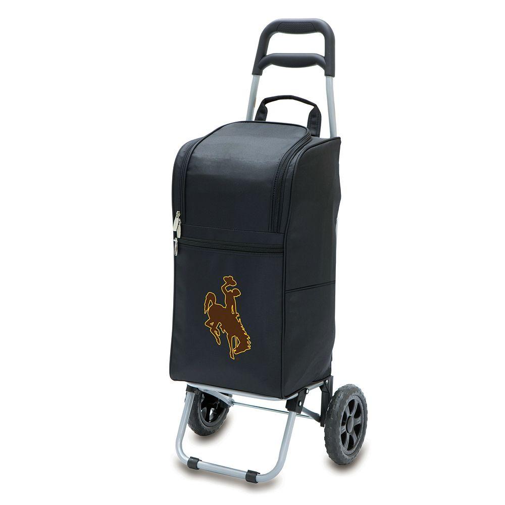 Picnic Time Wyoming Cowboys Cart Cooler