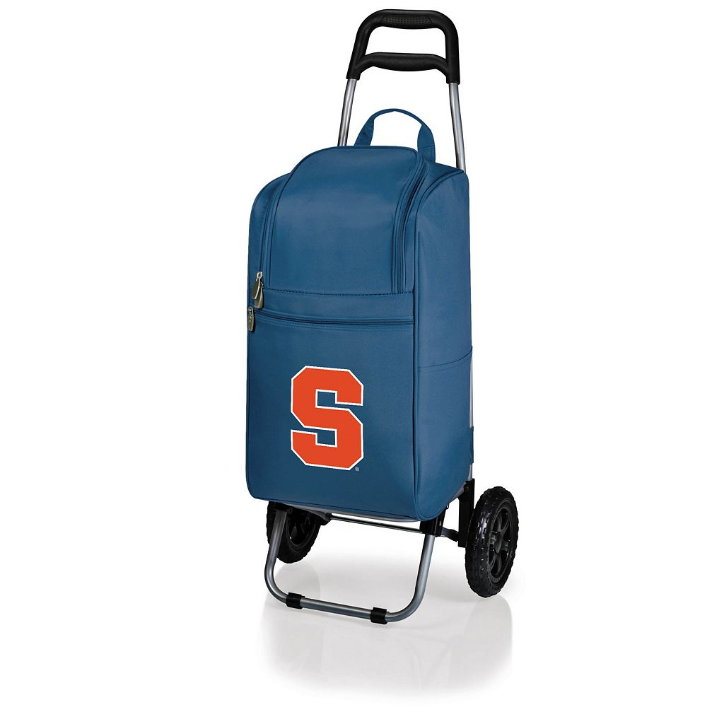 Picnic Time Syracuse Orange Cart Cooler