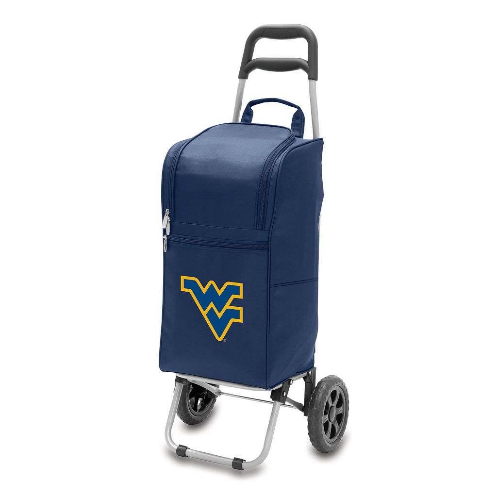 Picnic Time West Virginia Mountaineers Cart Cooler