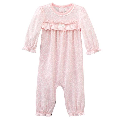 Chaps Floral Coveralls - Baby