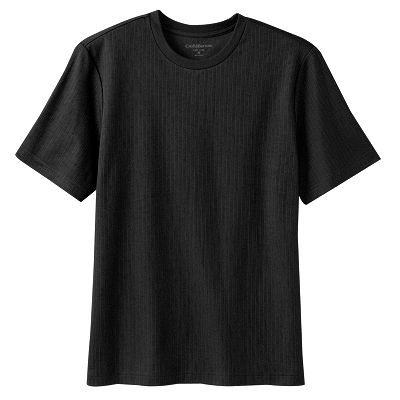 Croft and Barrow Easy-Care Ribbed Tee - Big and Tall