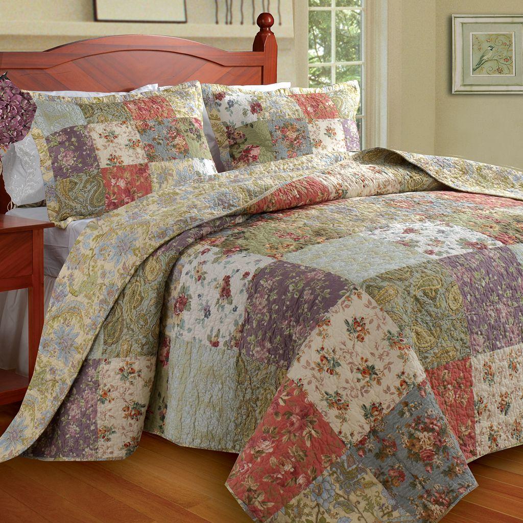 Blooming Prairie 3-pc. Bedspread Set - King