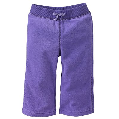 Jumping Beans Solid Microfleece Pants - Baby