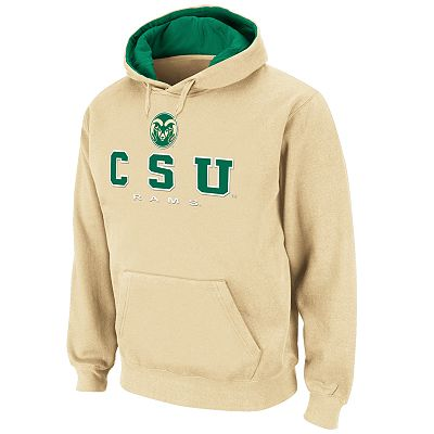 Colosseum Colorado State Rams Straight Logo Fleece Hoodie