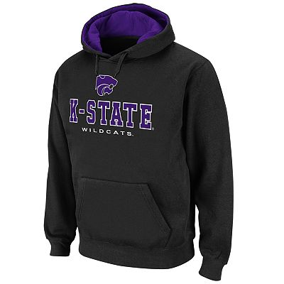 Colosseum Kansas State Wilcats Straight Logo Fleece Hoodie