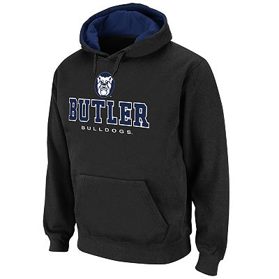 Colosseum Butler Bulldogs Straight Logo Fleece Hoodie