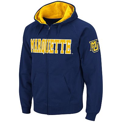 Colosseum Marquette Golden Eagles Fleece Hoodie - Men
