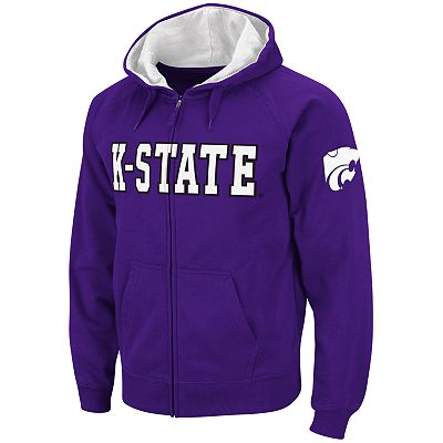 Colosseum Kansas State Wildcats Fleece Hoodie - Men